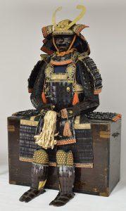 戸田忠道所用甲冑(個人蔵、写真提供 栃木県立博物館)